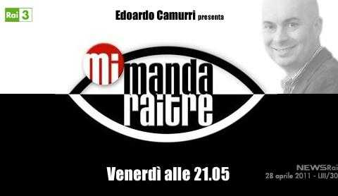 Torna stasera Mi Manda Rai Tre, con Edoardo Camurri | Digitale terrestre: Dtti.it