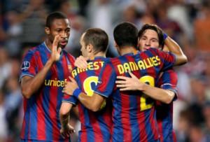 Barcellona - Espanyol domenica 8 Maggio in chiaro su Cielo