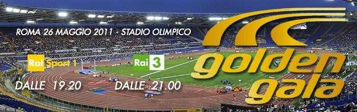 Su Rai Sport: 31esima edizione del Golden Gala   Digitale terrestre: Dtti.it