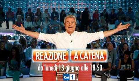 """Al via stasera il quiz estivo di Rai Uno: """"Reazione a catena"""""""