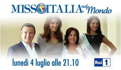 """""""Miss Italia nel mondo 2011"""", Lunedì 4 Luglio su Rai 1   Digitale terrestre: Dtti.it"""