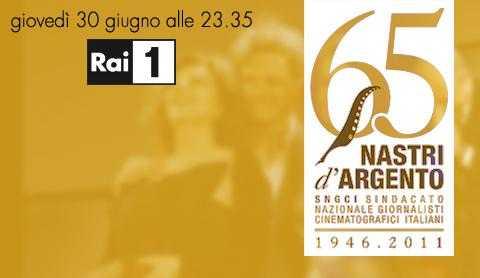 """Il 30 Giugno, su Rai 1: """"Nastri d'argento"""" 65ma edizione   Digitale terrestre: Dtti.it"""