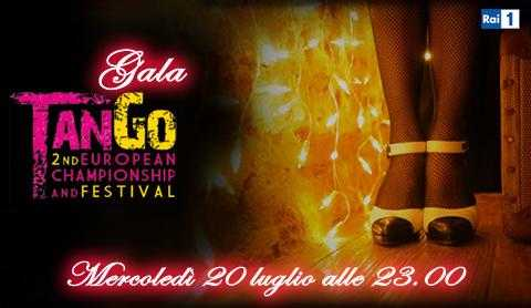 Rai 1: sfide tra campioni al gala di tango
