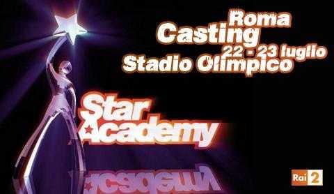 """Rai 2: al via i casting del talent show """"Star Academy"""""""