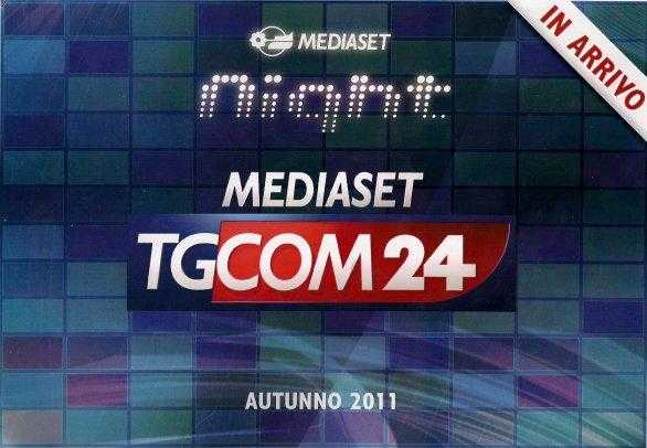 TGCom24: trasmissioni al via il 28 Novembre | Digitale terrestre: Dtti.it
