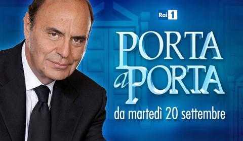 Torna Porta a Porta, da martedì 20 Settembre su Rai Uno