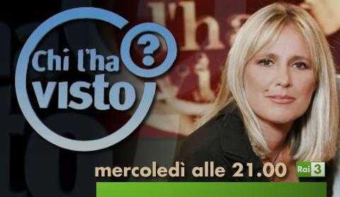 "Rai 3: torna ""Chi l'ha visto""   Digitale terrestre: Dtti.it"