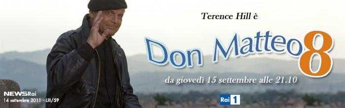 "Torna questa sera Terence Hill in ""Don Matteo 8""   Digitale terrestre: Dtti.it"