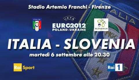 Euro 2012: Italia - Slovenia, orari diretta tv e streaming | Digitale terrestre: Dtti.it