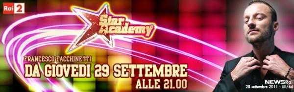 "Al via questa sera ""Star Academy"" su Rai 2"