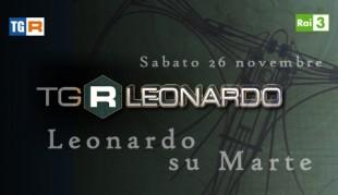 "Rai 3: ""Tgr Leonardo"" sbarca su Marte con ""Curiosity"""