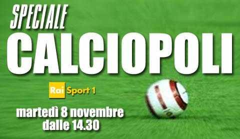 RaiSport 1: Speciale processo Calciopoli, diretta tv e streaming | Digitale terrestre: Dtti.it