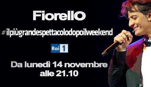 Rai Uno: al via il 14 Novembre il nuovo programma di Fiorello | Digitale terrestre: Dtti.it