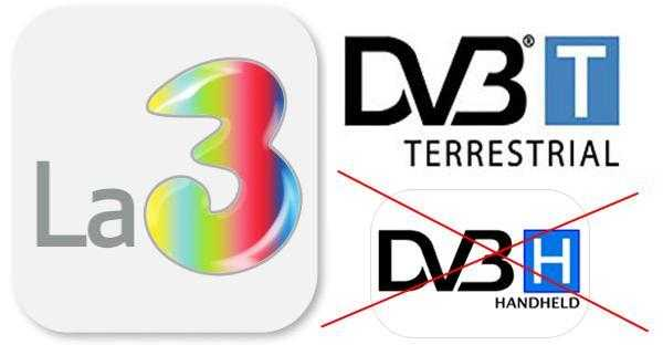 La 3: fine del DVB-H, frequenze convertite al DVB-T | Digitale terrestre: Dtti.it
