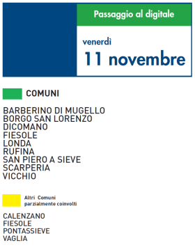 Venerdi 11 Novembre | Digitale terrestre: Dtti.it