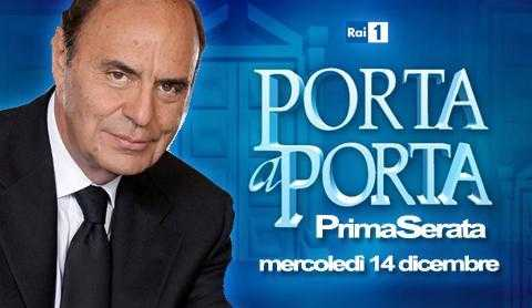 """Rai 1: """"Porta a porta"""", puntata speciale in prima serata   Digitale terrestre: Dtti.it"""