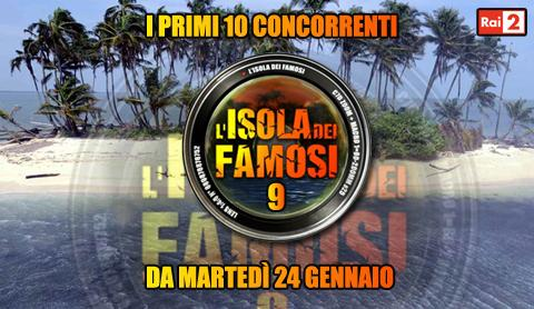 L'Isola dei famosi al via il 24 Gennaio, scelti i primi 10 concorrenti | Digitale terrestre: Dtti.it