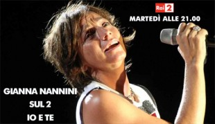 """Rai 2: speciale dedicato a Gianna Nannini - """"Io e te"""""""