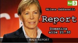 """A """"Report"""" si parlerà di mali colturali con Milena Gabanelli"""