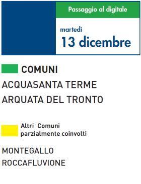Martedì 13 Dicembre | Digitale terrestre: Dtti.it