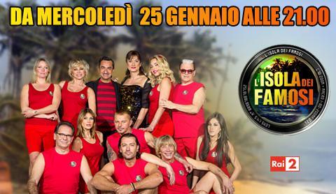 Isola dei famosi 2012: al via Mercoledì 25 Gennaio condotto da Nicola Savino e Vladimir Luxuria | Digitale terrestre: Dtti.it