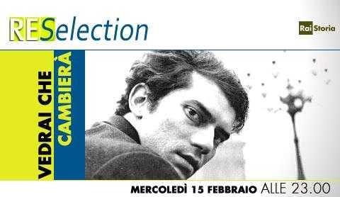 Su Rai Storia per ReSelection, vedrai che cambierà   Digitale terrestre: Dtti.it