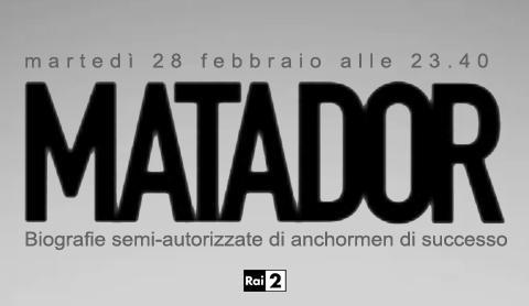 "Su Rai 2 prende il via ""Matador"", primo ospite Mentana"