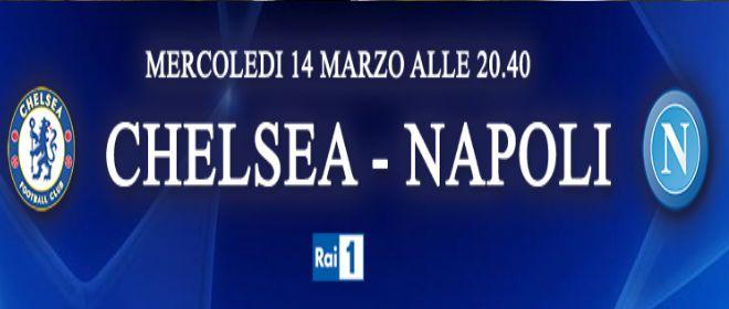 Torna la Champions League: diretta Chelsea-Napoli su Rai 1, in HD e streaming   Digitale terrestre: Dtti.it