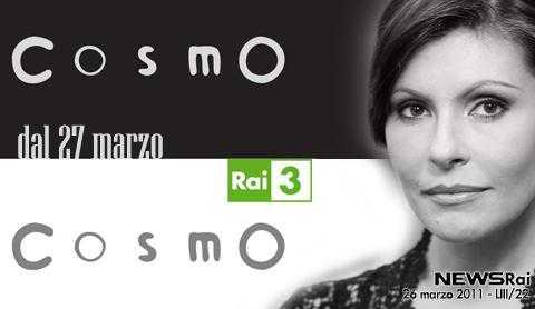 """Dal 27 Marzo al via il nuovo programma di divulgazione scientifica di Rai 3: """"Cosmo""""   Digitale terrestre: Dtti.it"""