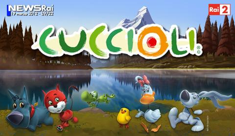 "Su Rai 2 arriva la serie ""Cuccioli"" in 3D 