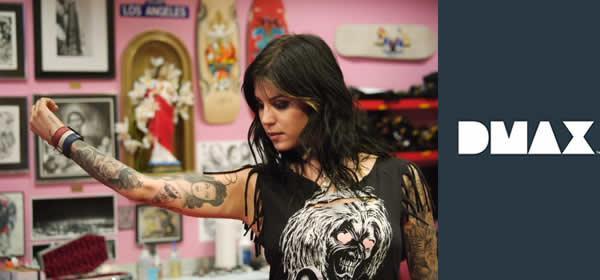 """Su DMAX le storie di Kay Von D e del tattoo center più cool di Los Angeles: """"LA INK""""   Digitale terrestre: Dtti.it"""
