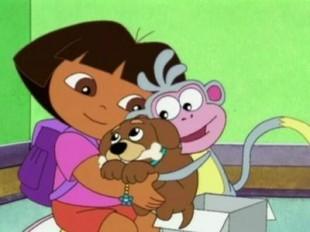 """Domenica 11 Marzo alle ore 16 su Nick JR, speciale Dora: """"Evviva i cuccioli"""""""