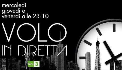 """Su Rai 3 torna Fabio Volo con """"Volo in diretta"""""""