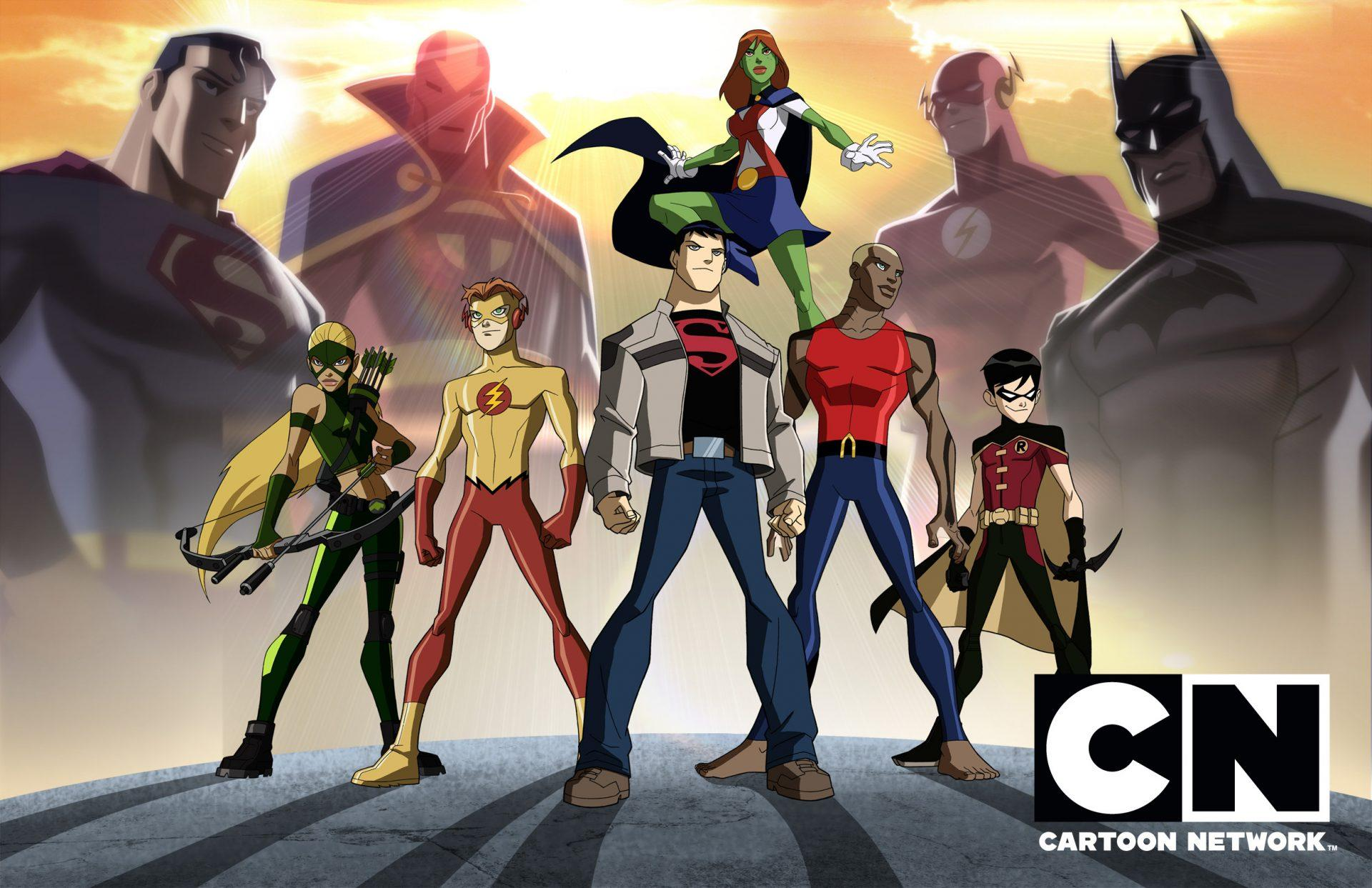 """Dal 30 Aprile su Cartoon Network la nuova serie in 1a Tv Assoluta """"Young Justice"""" con gli eroi teenager della DC Comics   Digitale terrestre: Dtti.it"""