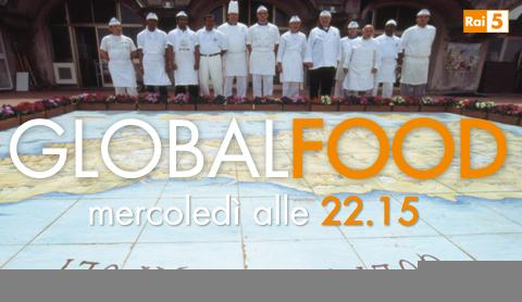 """Su Rai 5 la prima puntata di """"Global Food"""" con la pizza   Digitale terrestre: Dtti.it"""