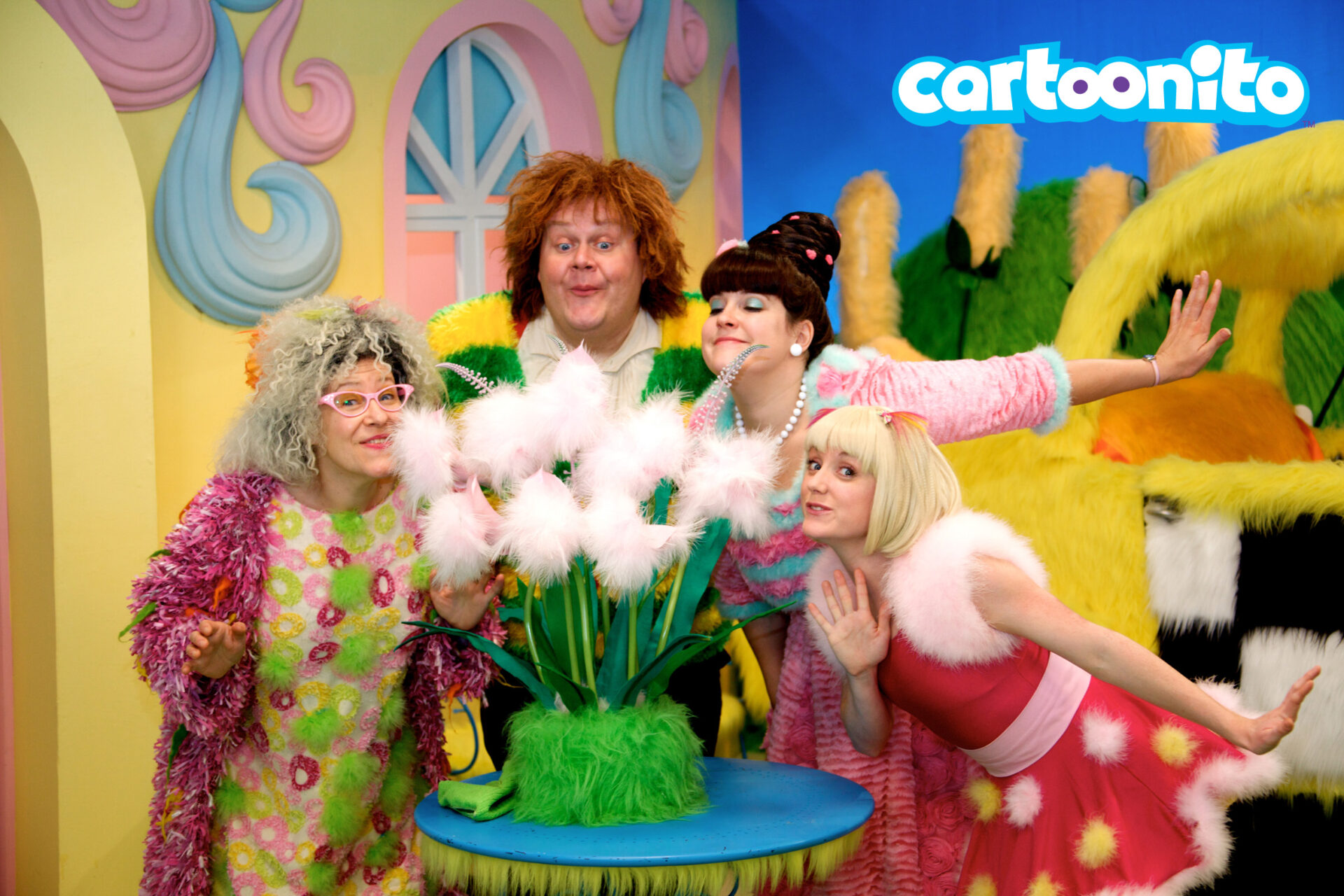 HA! HA! HAIRIES: Slapstick Comedy per bambini in Prima TV su Cartoonito da 4/6 | Digitale terrestre: Dtti.it