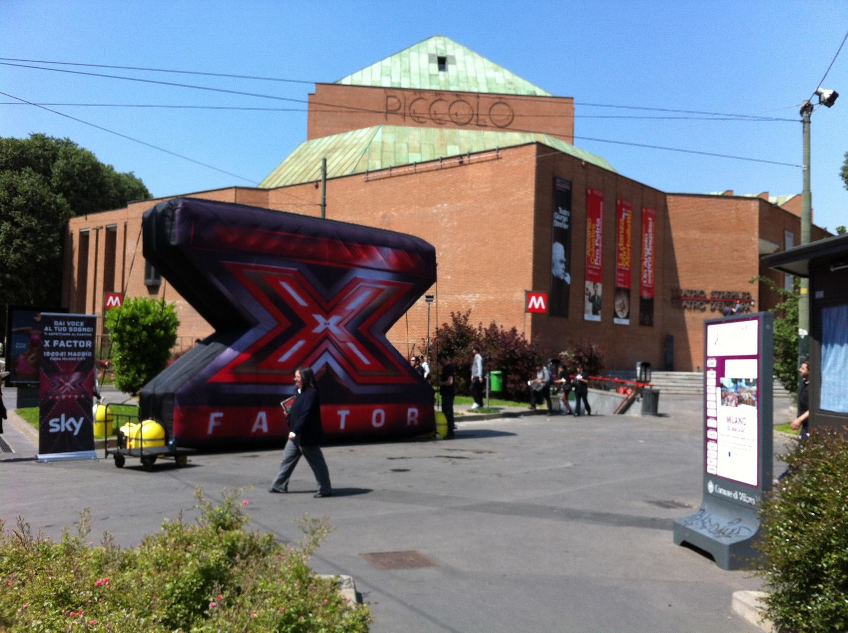 A Milano la seconda tappa di preselezioni di X Factor, da sabato 19 a Lunedì 21 Maggio | Digitale terrestre: Dtti.it