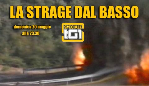 """Speciale TG1 sulla strage di Capaci: """"La strage dal basso"""""""
