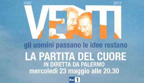 In diretta da Palermo, su Rai 1 la Partita del Cuore 2012 | Digitale terrestre: Dtti.it