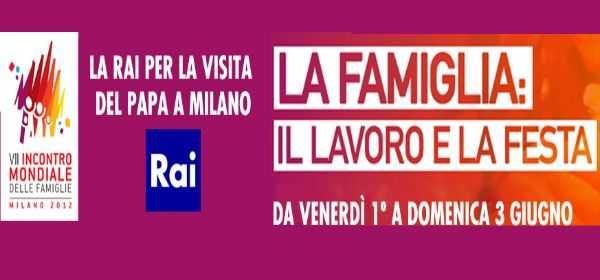 L'impegno Rai per raccontare la visita del Papa a Milano