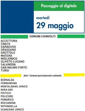 Switch Off 29 Maggio 2012 | Digitale terrestre: Dtti.it