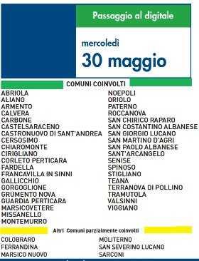 Switch Off 30 Maggio 2012 | Digitale terrestre: Dtti.it