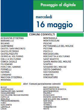 Switch Off Mercoledì 16 Maggio | Digitale terrestre: Dtti.it