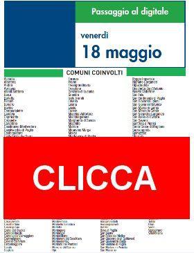 Switch Off Venerdì 18 Maggio | Digitale terrestre: Dtti.it