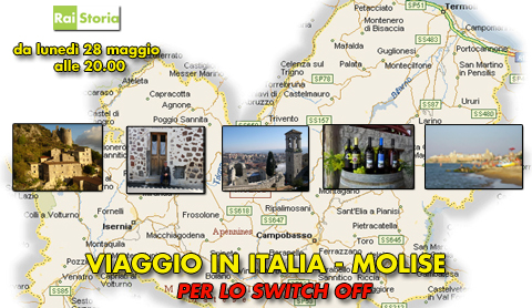 "Rai Storia: ""Viaggio in Italia"" in Molise in occasione dello switch off 