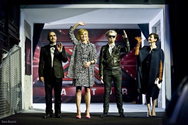 X Factor: aperte al pubblico le audizioni di Andria con Ventura, Morgan, Elio e Arisa