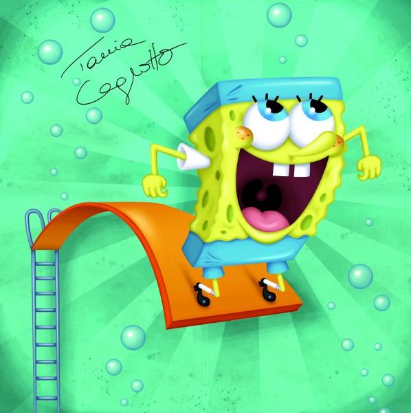 Tania Cagnotto e Josefa Idem a Londra con SpongeBob