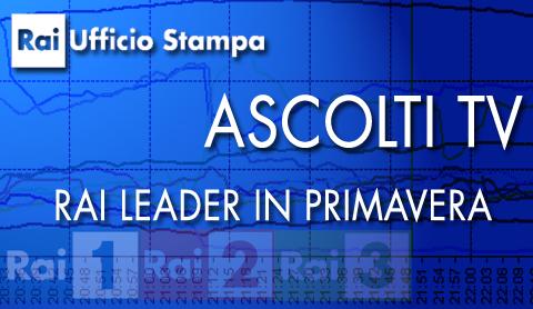 Rai: leader nella primavera 2012 e nell'intera stagione televisiva 2011/2012 | Digitale terrestre: Dtti.it