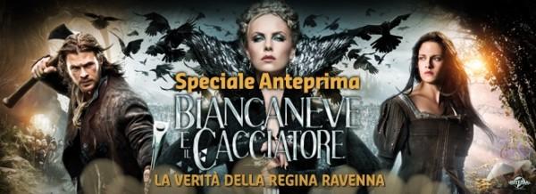 """Incredibile anteprima su Premium Cinema: """"Biancaneve e il cacciatore - La verità della regina Ravenna"""""""