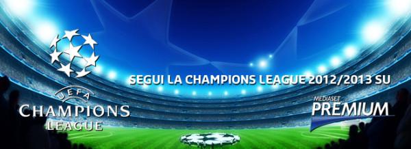 Champions League, spareggi: diretta questa sera su Mediaset Premium